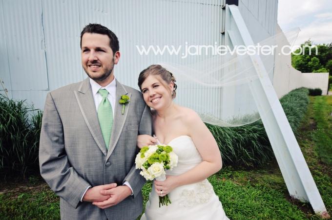Lake Shore Drive In wedding Monticello, IN