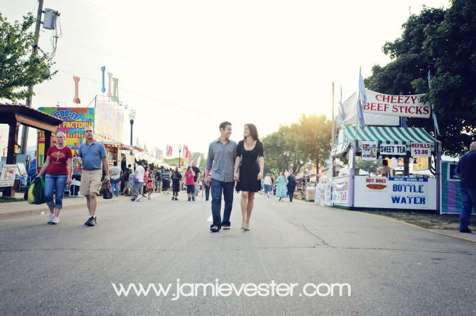 Indiana State Fair Engagement Photo Session